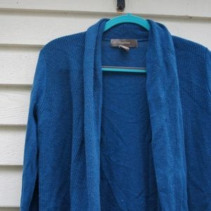 Ply Cashmere Blue Cardigan, Small, NWOT